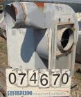 USED:  Aerovent Centrifugal Blower, Model 500-BW-MHB-1743-5, Type MHB, Carbon Steel.  Approximate 20
