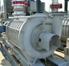 Used- HSI Model 8810 10-Stage Centrifugal Blower. Teco 150 HP explosion proof motor, 2570 RPM, 460/3/60. Mfg. 2011. Skid Mou...