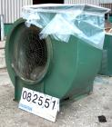 USED: New York Blower general purpose fan, size 36PLR, carbon steel. Approximately 23,000 cfm at 8