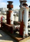 USED: Roots Ram Whispair rotary positive gas blower, model 418J. Approximate capacity 675 cfm at 16.5 bhp at 4 psi. 8