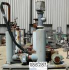 USED: Roots Ram Whispair rotary positive gas blower, model 418J. Approx capacity 675 cfm at 16.5 bhp at 4 psi. 8