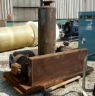 USED: Roots Ram Whispair rotary positive gas blower, model 616JVRCS. Approximate capacity 450 cfm at 11 bhp at 4 psi. 6