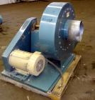 Used- Sterling Blower, Model 13 MS, Arrangement 1A, Carbon Steel. Approximate 5000-5800 cfm. Approximate 14