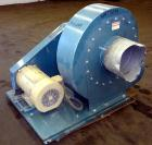 Used- Sterling Blower, Model 13 MS, Arrangement 1A, Carbon Steel. Approximately 5000-5800 cfm. Approximately 14