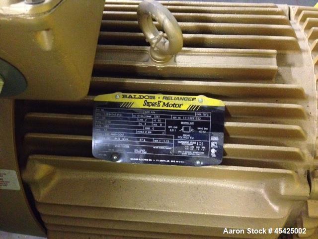 Used- Twin City Fan / Blower System, Model RBA, Size 915. 50 hp AC variable speed motor. Allen Bradley Powerflex drive. Rate...