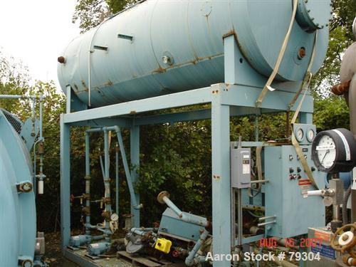 Used- Cleaver Brooks Spraymaster Deaerator Model SDP30-600-5D. Rated for 30,000 LBS/HR. Unit includes (5) 1 1/2 HP, 3/60/208...