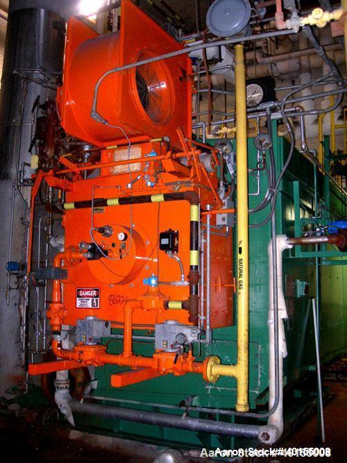 Used:  Babcock and Wilcox water tube boiler, 20,000 pounds per hour at 250 psig design pressure. 2253 square feet heating su...