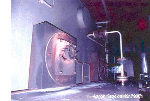 Used- Babcock & Omnical Fire Tube Natural Gas Boiler