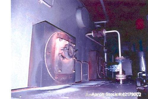 Used-Babcock & Omnical Fire Tube Natural Gas Boiler