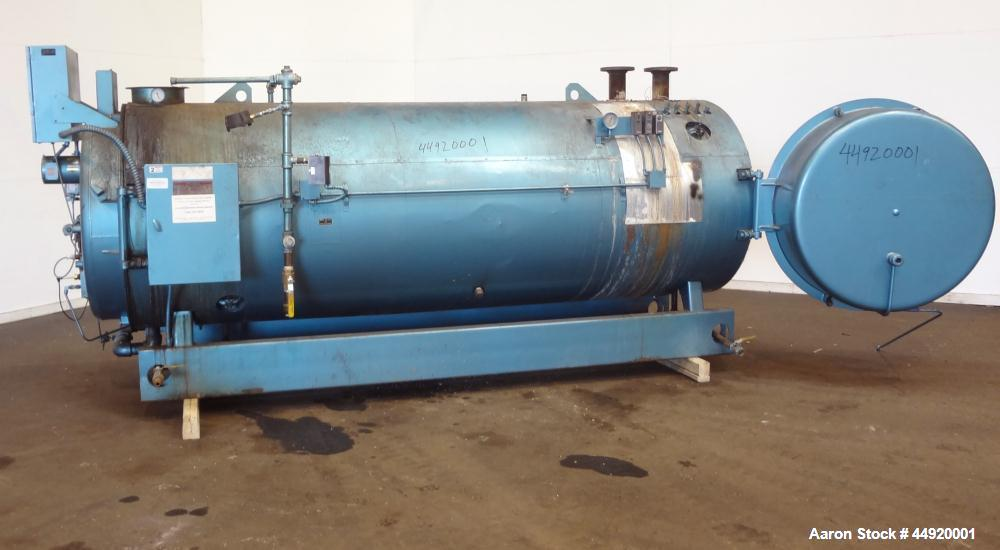 Used- Cleaver Brooks Gas Fired Hot Water Packaged Fire Tube Boiler, Model CB-700