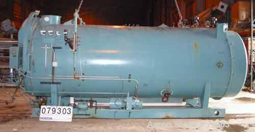 Used- Cleaver Brooks Packaged Fire Tube Boiler, Model CB1200350015. 350 HP, input 14,288,100 BTU/HR. 12075 LBS/HR of steam a...