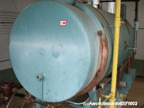 Used-Cleaver Brooks boiler, model CB700-60. 60 hp, 150 psi design pressure. Natural gas fired. Includes feedwater tank, pump...