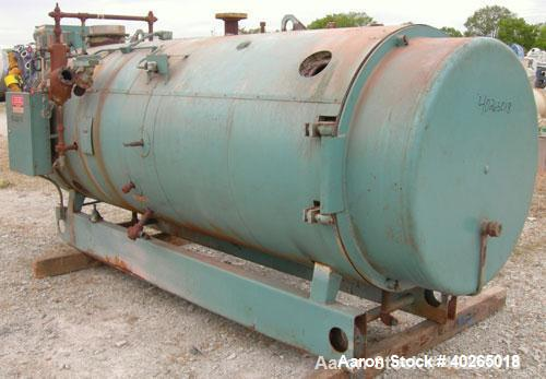 Used- Cleaver Brooks Packaged Firetube Boiler, Model CBH700-70. 70 hp, input 2,930,000 btu/hr. For use with natural gas. 241...