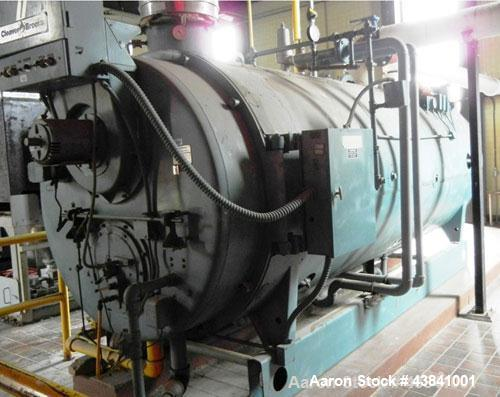 Used- Cleaver Brooks Packaged Hot Water Boiler, Model NCB 700-175A. 175 HP, 125 PSI, 7,530,000 btu/hr, manufactured 1993.