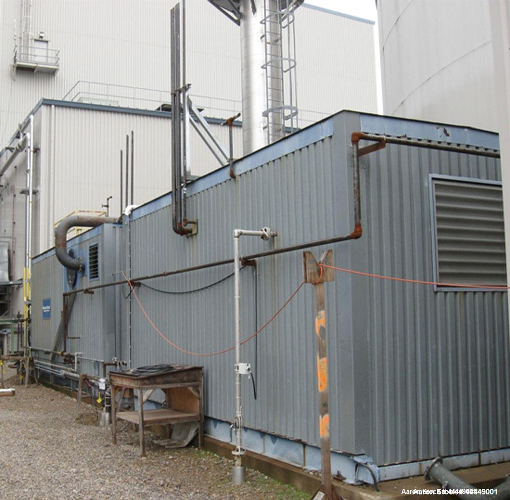 Used-English Boiler & Tube Inc Auxiliary Steam Boiler, 25,000 lbs/hour, model 20 DD 250.  Gas fired, MAWP 250 psi, 3063 squa...