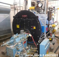 Used- Hurst Firetube Boiler, Model S400-GO-100-150ST.