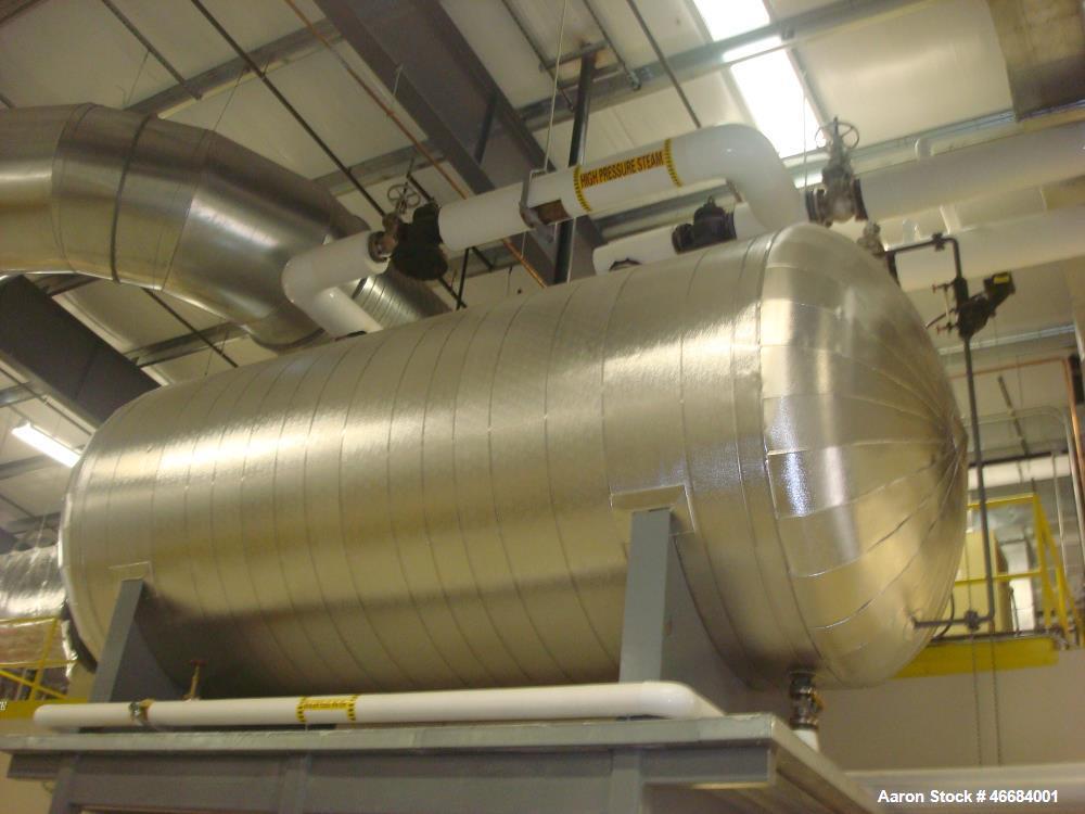 Used- Sellers-Ygnis Steam Boiler, Model SY-225-S, Mas. Design Pressure 150 PSI. Input- 10,461,000 BTU/hr. Output - 8,370,000...