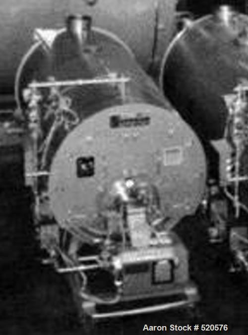 Unused-NEW 30 hp Superior Mohawk Scotch 3 pass dryback firetube boiler,150 psig DP model #4-5-156-S150-GP-GP2. Boiler is equ...