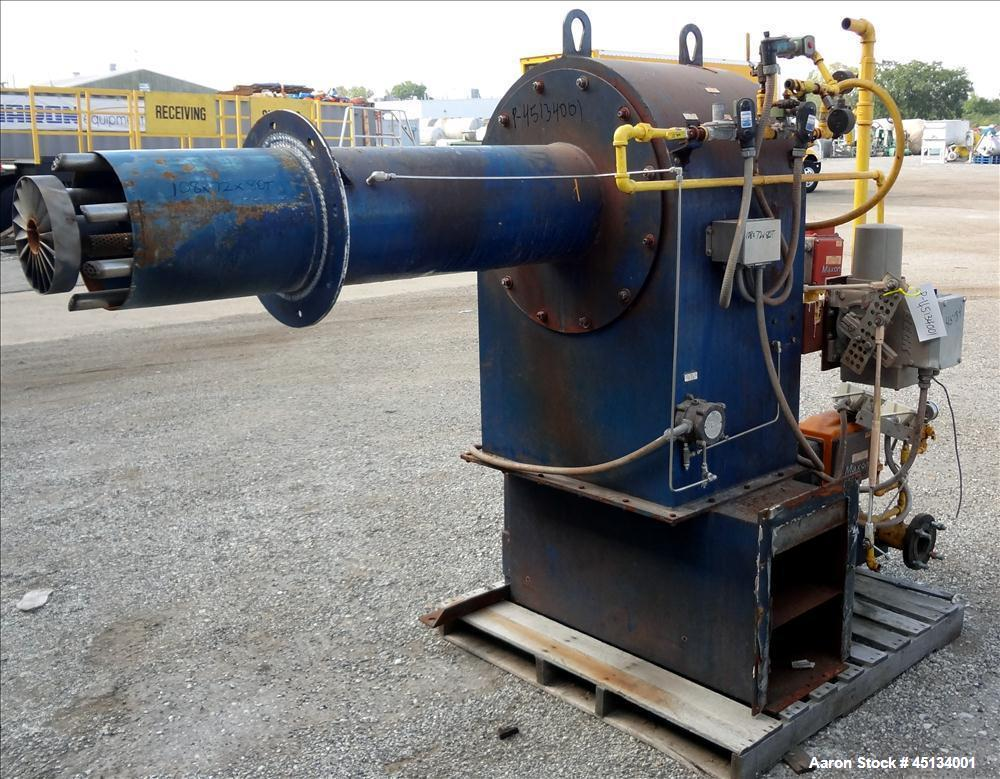Used- York & Shipley Global 700 HP Packaged Firetube Steam Boiler, Model 5112-53
