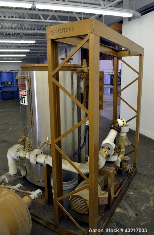 Used- Fulton Electric Thermal Fluid Heater, Model FT-0150-N. 144000000 BTU/HR. 44 KW, 150 psi working pressure. 3 Phases, 46...