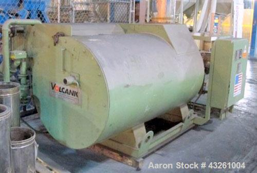 Used- Volcanic 250KW Natural Gas Fired Oil Heater, Model 085. Has power flame burner, model J50A-15. Skid mounted. Built 200...