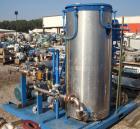 Used- Fulton Electric Thermal Fluid Heater, Model FT-0430-N. 429,000 BTU/HR. 126 kW, 150 psi working pressure. Includes (2) ...