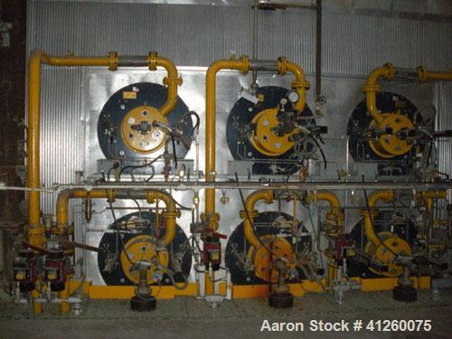 Used--Foster Wheeler Waste Heat Steam Boiler. Capable of 360 mm btu/ hour, 360,000 #/hour steam. Consists of (6) Todd combus...