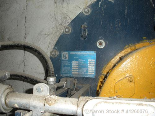 Used--Foster Wheeler Waste Heat Steam Boiler. Capable of 339 mm btu/hour, 339,000 #/hour steam. Consists of (6) Combustion A...