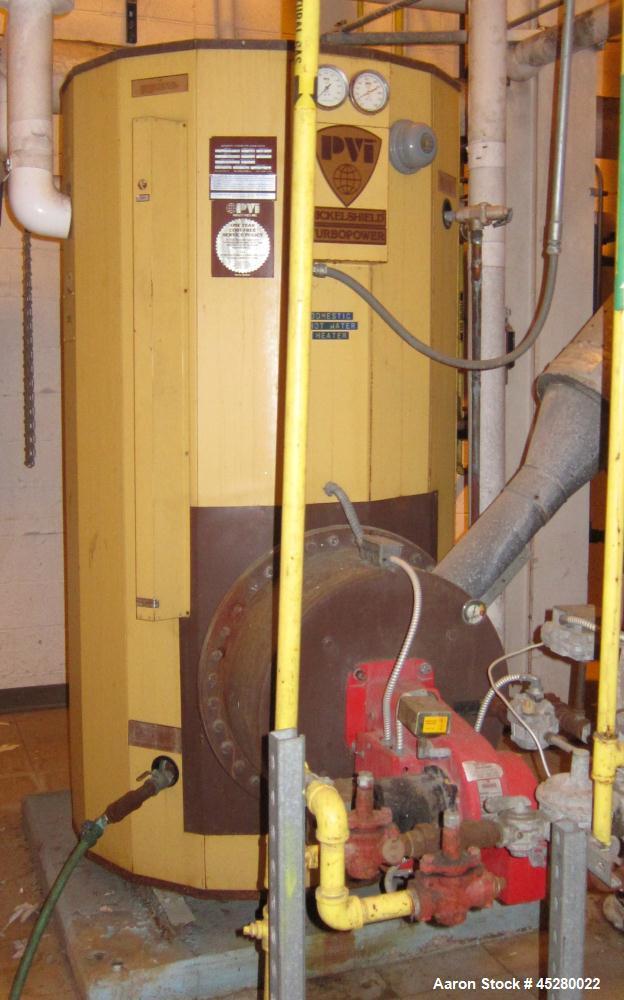 Used-PVI Industries Boiler, Model 625N400ATP
