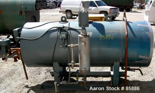 """Used- Adamson Global Technology Corp Steam Generator, 316 Stainless Steel. 30"""" O.D. x 5'6"""" long. Shell rated 50 PSI at 350 D..."""