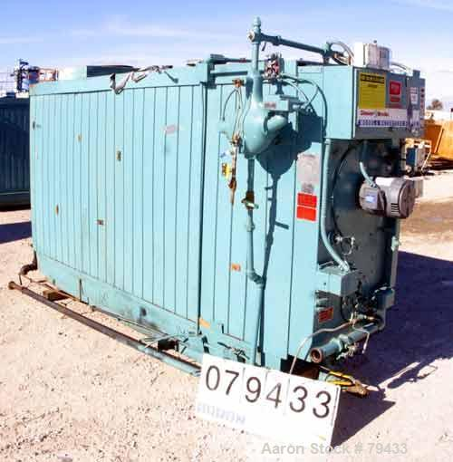 USED: Cleaver Brooks model M4S-6000 package steam boiler, series 200NG. Rated steam capacity of 4949 lbs/hour at 212 deg F. ...