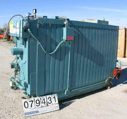 Used- Cleaver Brooks Package Water Boiler, Model M4W-5000, Series 700NG. Rated input capacity of 5,000,000 BTU/HR. Rated out...