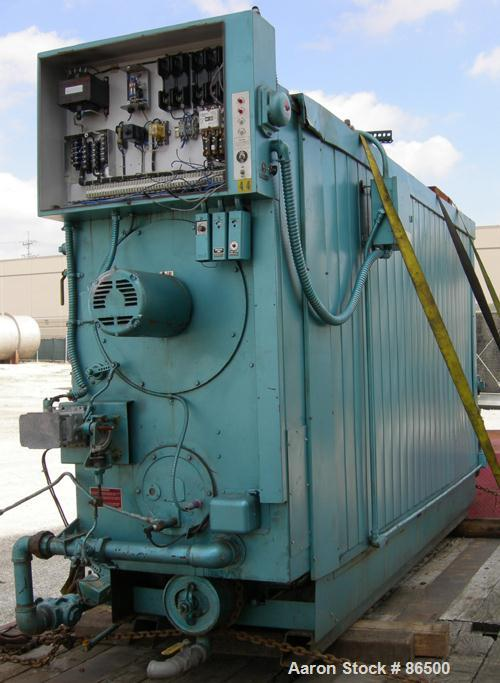 USED- Cleaver Brooks Commercial Water Tube Boiler, Model M4W-5000, Series 700 MG. Natural gas firing, approximate 6000 CFH. ...