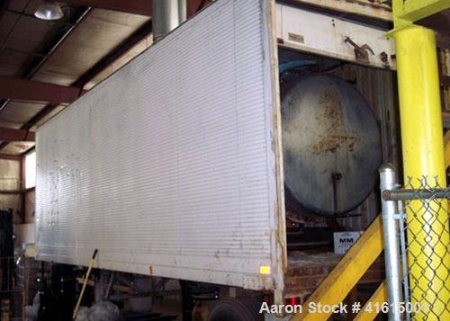 Used- Cleaver Brooks portable semi trailer mounted boiler, rated 6 million BTU/hour. Dual fuel propane or diesel. Dual water...