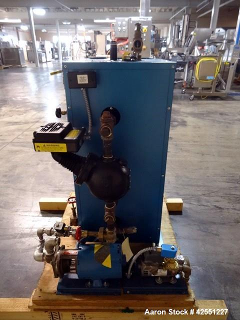 Used- Sussman Electrically Heated Boiler, Model ES36. 36kW, rated 100 psi with circulation pump. 3/60/208 volt. Serial# N-17...