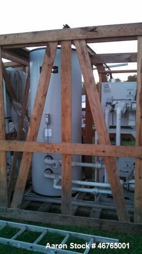 Unused- Lochinvar Efficiency Commercial Water Heater, Model EWN250PM. Inclludes: (2) 250,000 BTU boilers, (1) 257 gallon sto...
