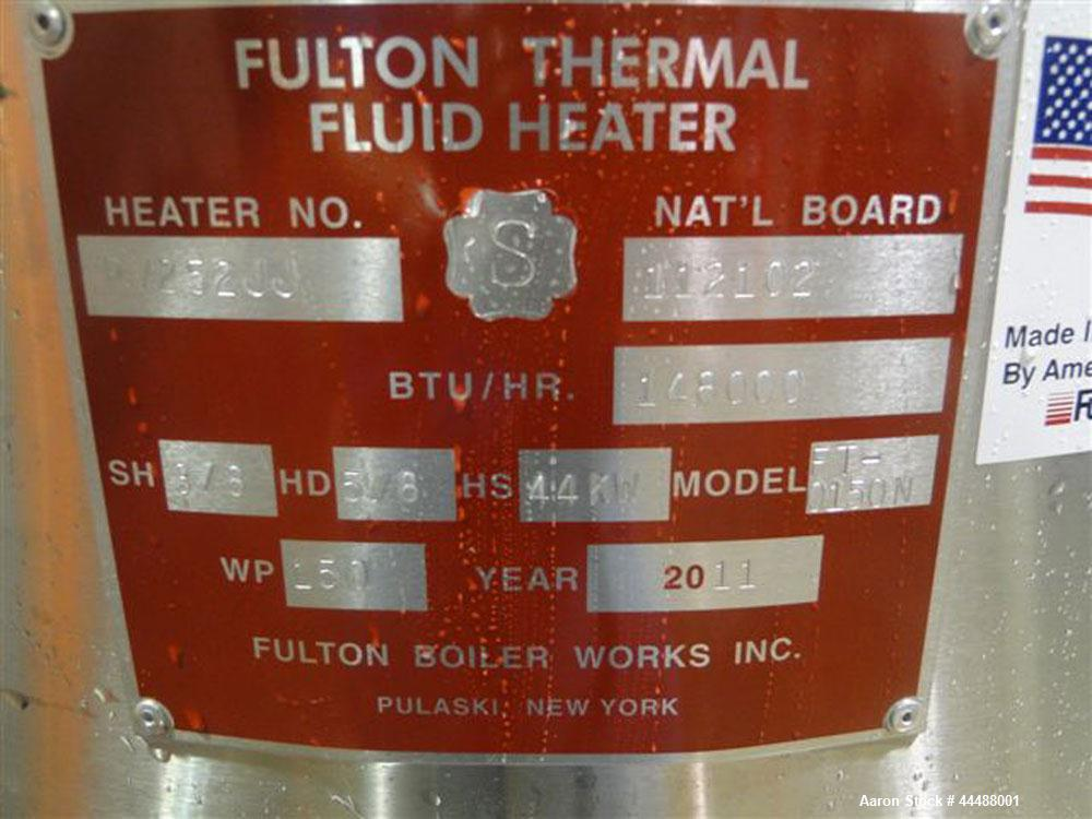 Unused- Fulton Boiler, Model FT-0150-N