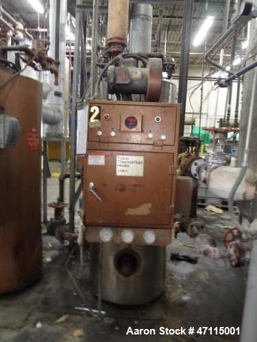 Used- Fulton Thermal Fluid Heater, Model FT-0520-A.  519 BTU/HR. 100 PSI. Built 1990.