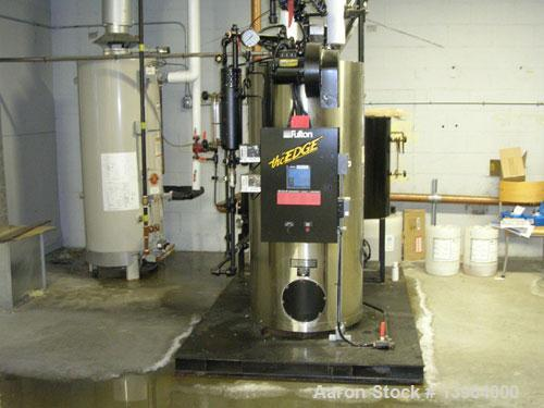 Used: Fulton fuel fired steam boiler, model ICX 10