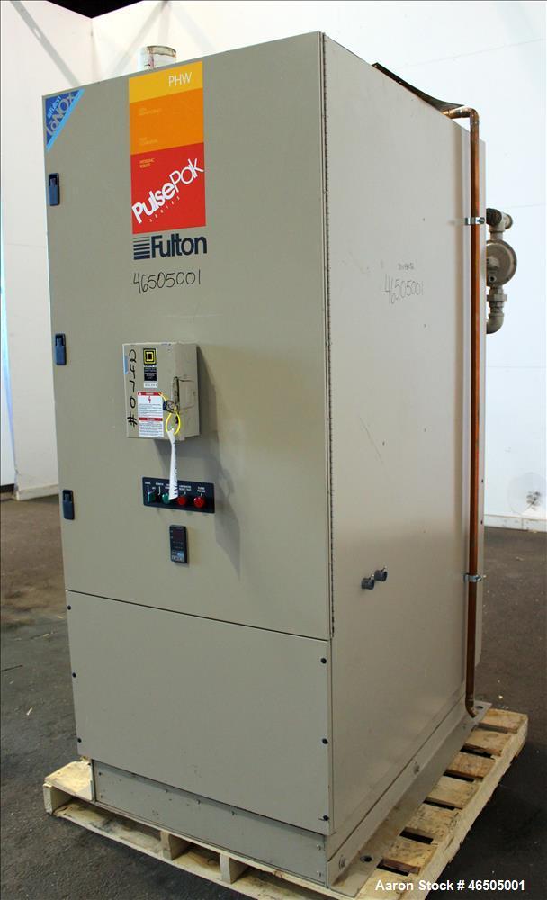 Used- Fulton PulsePak Combustion Hydronic Boiler