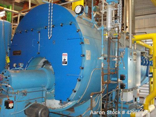 Used- Kewanee Package Boiler, Model H3S500, 500 hp, 150 psi, 19526# hr/steam capacity, 2500 square feet surface area. 20.925...