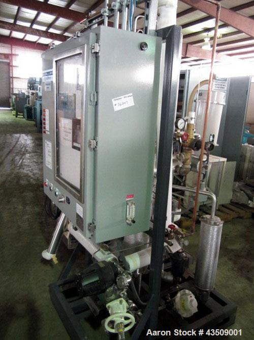 Used- Mueller PyroPure Steam Generator, model PSG P2001, approximate 1000 pounds per hour steamserial #178340-1.3/60/460 vol...