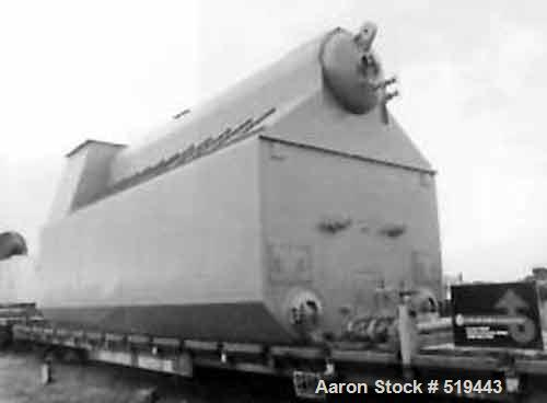 Unused-NEW: Nebraska 150,000#/hour, 750 psig D.P., package watertube boiler, type N2S-7/S-104SH. Boiler is a shop assembled ...