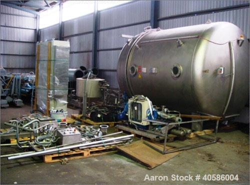 "Used-Theis/Funke Germany Boiler, Type 2800/2000, carbon steel. Capacity 6250 gallon (23,623 liter). 9'1"" diameter x 6'5"" str..."