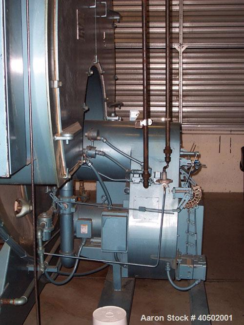 Used-Triple S Boiler, model 777. 400 hp, gas fired, 150 psi, equipped with a John Zink Co model SIF 16 1-G-150 burner, built...