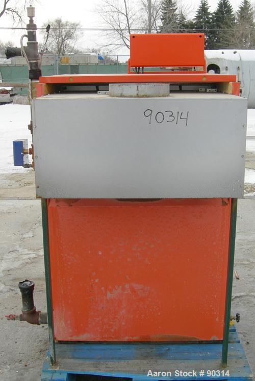 USED- Viessman Atola-RS Series Natural Gas Fired Water Boiler, Model RS-8. CSA input 550 MBH, CSA output 468 MHB. 85% combus...