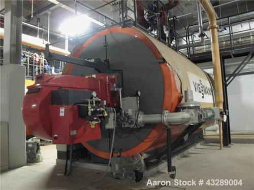 Unused-Viessman Gas Heated Hot Water Boiler, Model Turbomat 18032-16.Capacity output 6000 kW, Weishaupt single burner type R...
