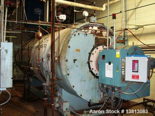 Used-York Shipley 400 hp High Pressure Steam Boiler, Model YSH-400-N 175976.  13,390,000 btu/hour, 480 vac, 60 hz.  Manufact...