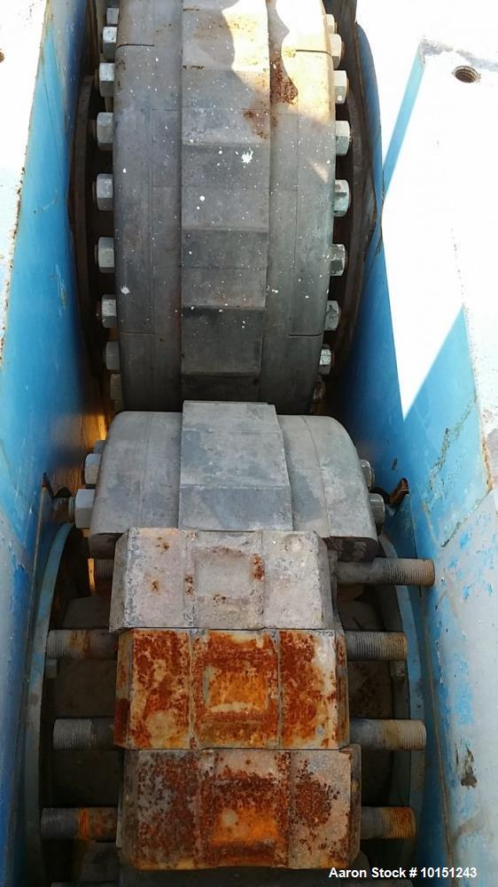 Used- Komarek Greeves 50 hp Briquetter Press.