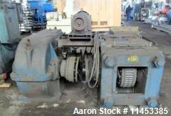 "Used- Komarek Greaves Briquetter, Model 150MS. Approximately 20.5"" diameter x 9.2"" faced rolls, 150 ton max roll separation ..."